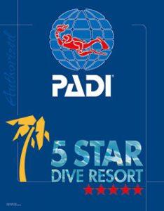 deepblue diving padi logo