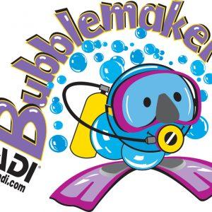 PADI - Bubblemaker scuba diving for kids