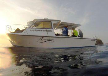 Dive boat Lady Blue