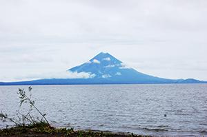deep blue nicaragua vulcano